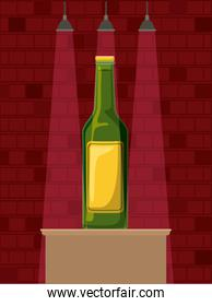 best drink bottle alcohol icon