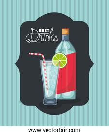 best drink bottle with cup frame
