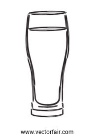 glass with beverage icon