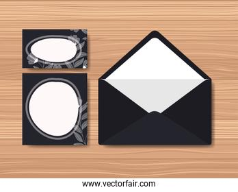 envelope with invitation card