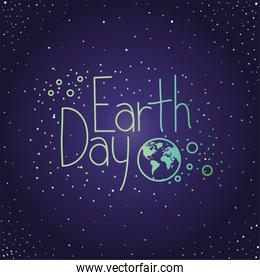 world planet earth day celebration
