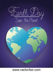 world planet earth heart day celebration