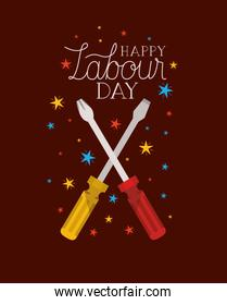 screwdriver tools labour day
