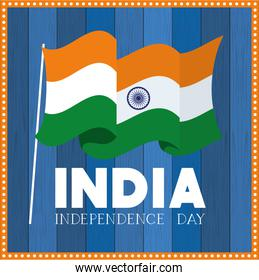 independence day indian flag background