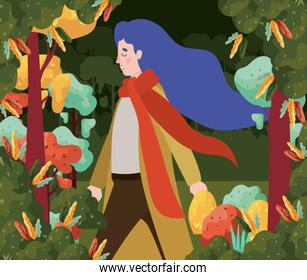 Autumn Season Design ,vector illustration