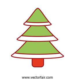 green christmas tree decoration traditional holiday