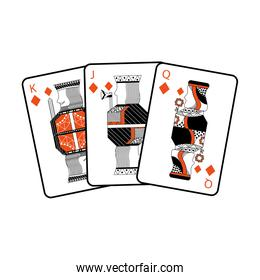 french playing cards related icon icon image