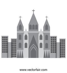 church cathedral gray icon image