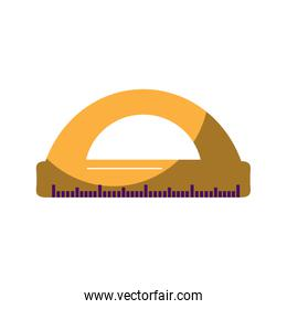 ruler math measuring icon image