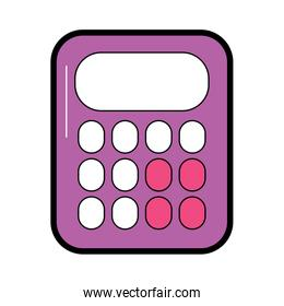calculator with blank keys icon image