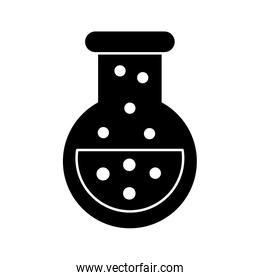 flask test tube science icon image