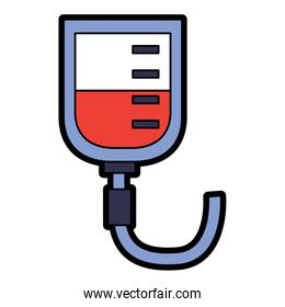 iv bag healthcare icon image