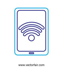 tablet computer wifi internet connection signal