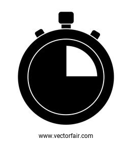clock time stopwatch business icon