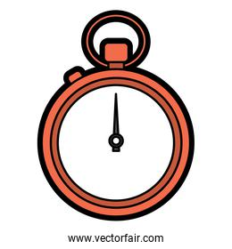 stopwatch or chronometer time icon image