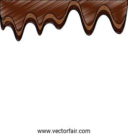 melted chocolate sugar cocoa image