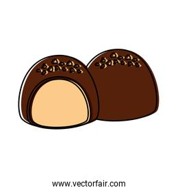 chocolate filled icon image