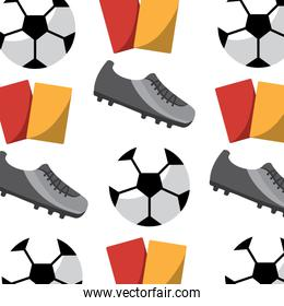 football soccer pattern image