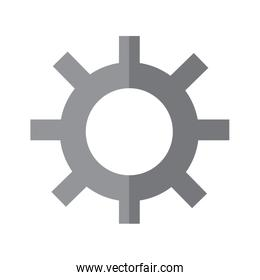 gear isolated icon image