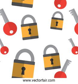safety lock with key wallpaper image