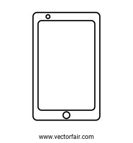 technology device smartphone line style icon