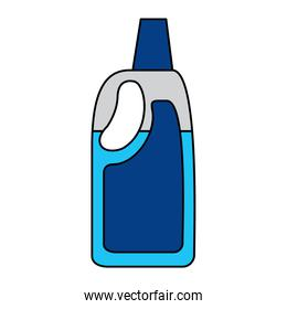detergent bleach plastic bottle for liquid cleaning
