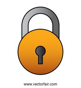 close padlock security protection data cyber safety