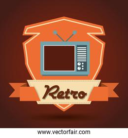 retro icon design