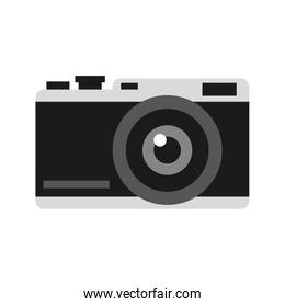 photographic camera with flash icon