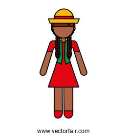 peasant woman avatar character