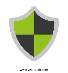 shield security isolated icon