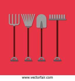 farm set tools icon