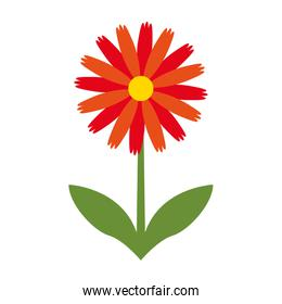 cute flower nature icon