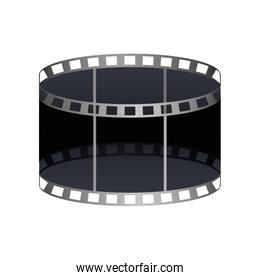 tape record isolated icon