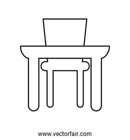 table food isolated icon