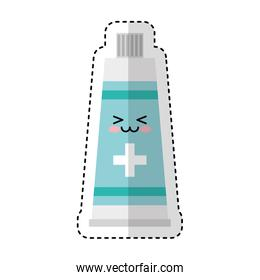 medical cream character icon