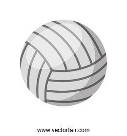 volleyball sport isolated icon