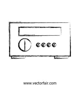 stereo home appliance icon