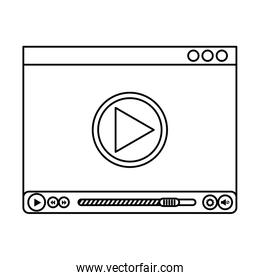 media player template icon