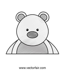 polar bear cute character
