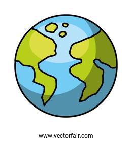world earth planet icon