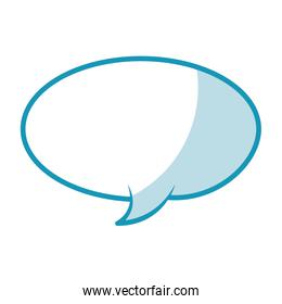 shadow speech bubble vector graphic design