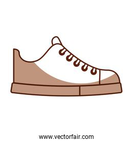 cute shadow shoe cartoon