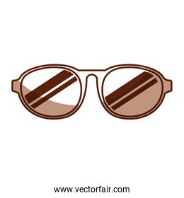 cute shadow sunglasses cartoon