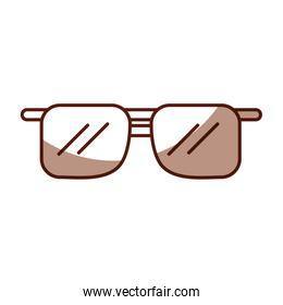 shadow brown sunglasses cartoon