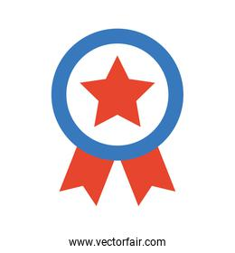 american medal with star