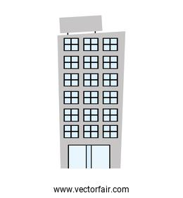 exterior building drawing icon