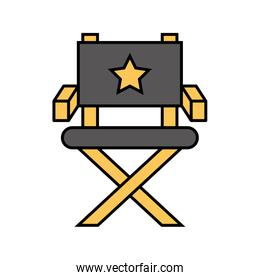 movie director chair icon