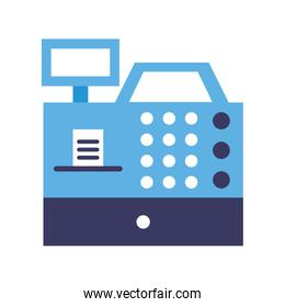 register machine isolated icon