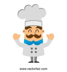 funny chef avatar comic  character
